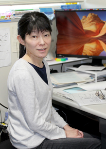 Project Leader Yasuko Ono